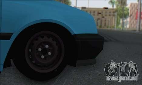 Volksvagen Golf Mk3 pour GTA San Andreas vue de droite