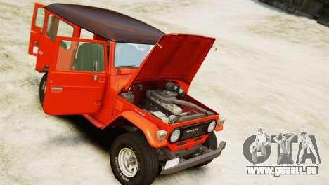 Toyota FJ40 Land Cruiser 1978 Beta für GTA 4 rechte Ansicht