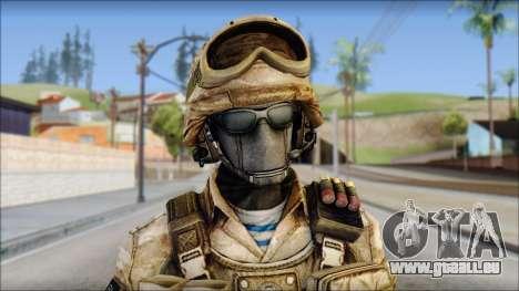 Desert GRU from Soldier Front 2 für GTA San Andreas dritten Screenshot