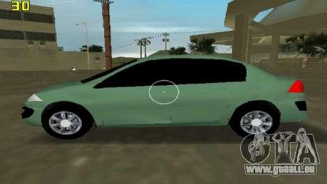 Renault Megane Sedan 2001 für GTA Vice City linke Ansicht
