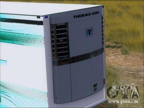 Remorque AMD Athlon 64 X2 pour GTA San Andreas vue intérieure