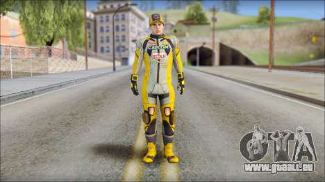 Piers Amarillo Gorra für GTA San Andreas