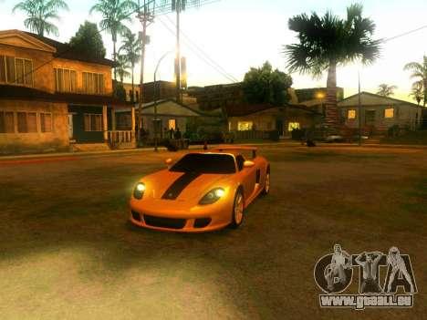 Porsche Carrera GT pour GTA San Andreas