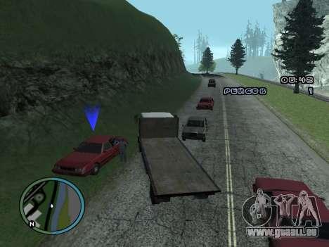 Évacuateur v1.0 pour GTA San Andreas cinquième écran