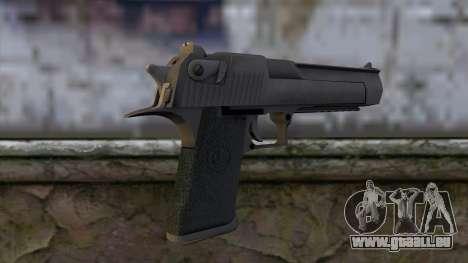 Desert Eagle from CS:GO v2 pour GTA San Andreas deuxième écran