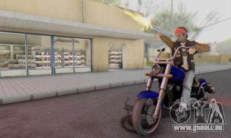 Biker A7X 2 pour GTA San Andreas cinquième écran