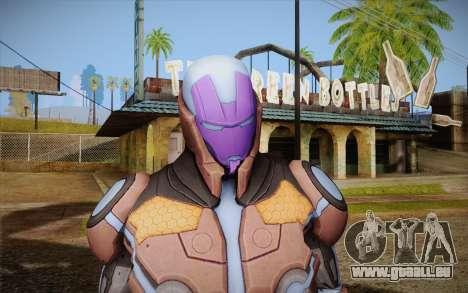 Living Laser Skin für GTA San Andreas dritten Screenshot