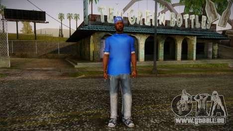 Sweet Blue Skin pour GTA San Andreas