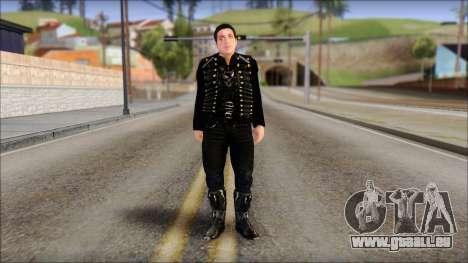 Till Lindemann Skin pour GTA San Andreas