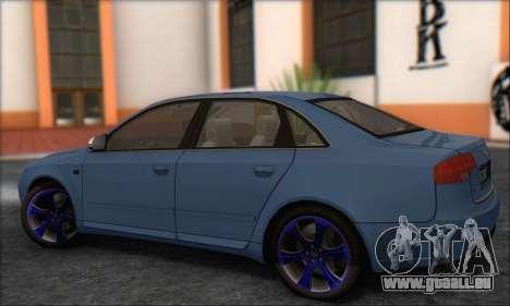 Audi S4 4.0 Quattro 2006 für GTA San Andreas rechten Ansicht