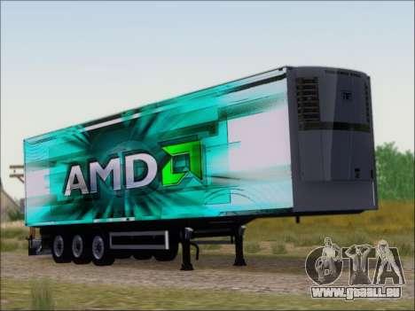 Remorque AMD Athlon 64 X2 pour GTA San Andreas