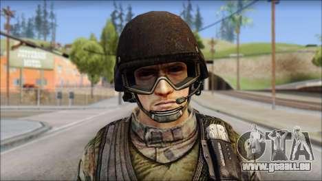 Forest GROM from Soldier Front 2 für GTA San Andreas dritten Screenshot