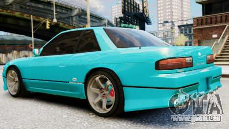 Nissan Silvia S13 v1.0 für GTA 4 linke Ansicht