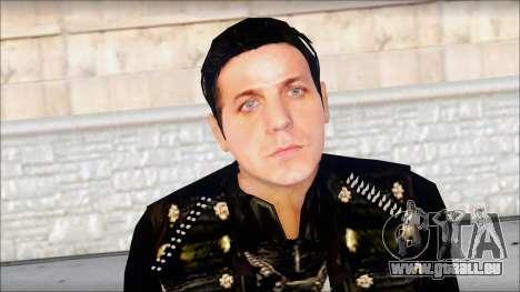 Till Lindemann Skin pour GTA San Andreas troisième écran