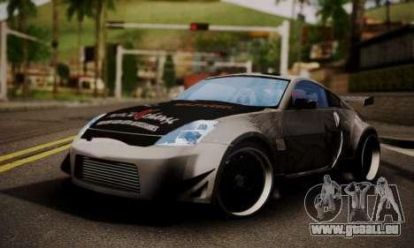 Nissan 350z Angel Beast Itasha Edition für GTA San Andreas