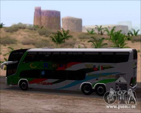 Marcopolo Paradiso G7 1800 DD 6x2 Scania K420 pour GTA San Andreas vue intérieure
