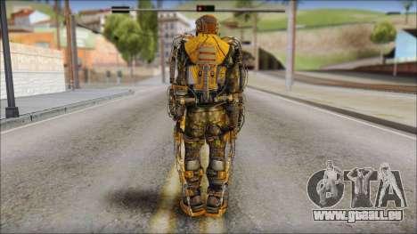 Exoskeleton pour GTA San Andreas deuxième écran