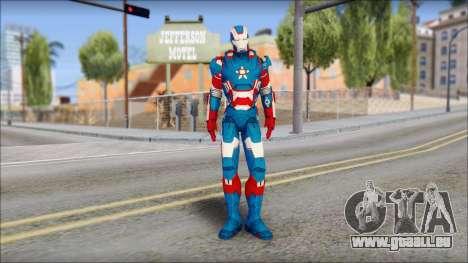 Iron Patriot für GTA San Andreas