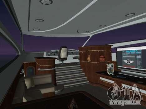 Yacht pour une vue GTA Vice City de la droite