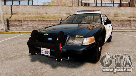 Ford Crown Victoria Sheriff [ELS] Marked pour GTA 4