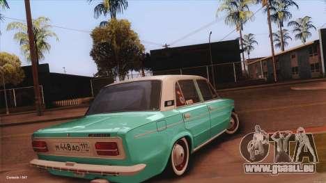 VAZ 2103 la Havane pour GTA San Andreas laissé vue