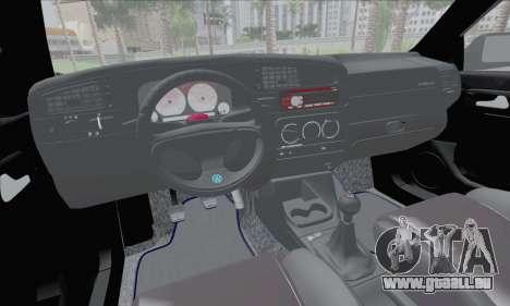 Volksvagen Golf Mk3 für GTA San Andreas Rückansicht