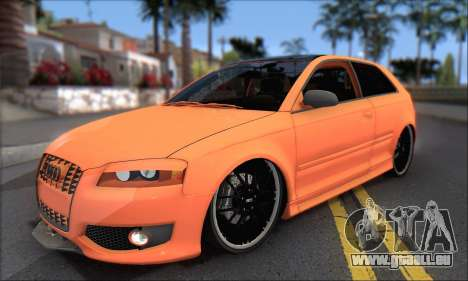Audi S3 2006 Custom für GTA San Andreas