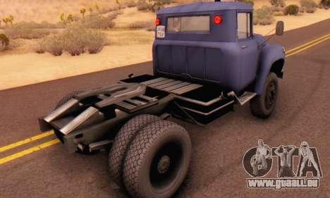 ZIL V pour GTA San Andreas vue arrière