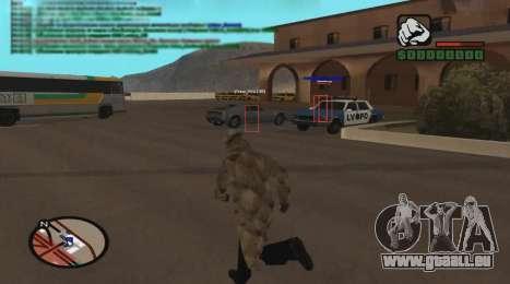 ESP pour GTA San Andreas troisième écran