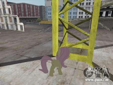 Fluttershy pour GTA San Andreas deuxième écran