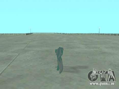 Lyra pour GTA San Andreas sixième écran
