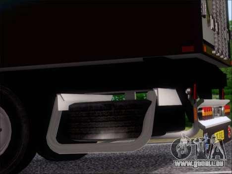 Remorque AMD Phenom X4 pour GTA San Andreas vue de dessus