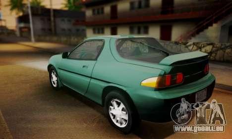 Mazda MX-3 pour GTA San Andreas laissé vue