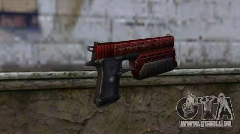 Infinity EX2 Red from CSO NST pour GTA San Andreas deuxième écran