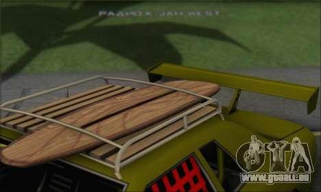 Doktor Style Elegy pour GTA San Andreas vue arrière