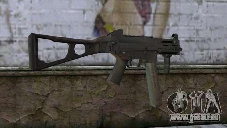UMP-45 from CS:GO v2 für GTA San Andreas zweiten Screenshot