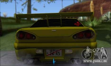 Doktor Style Elegy pour GTA San Andreas sur la vue arrière gauche