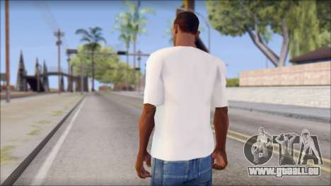 Macbeth T-Shirt für GTA San Andreas zweiten Screenshot