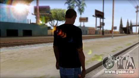 DM T-Shirt Drogerie Market pour GTA San Andreas deuxième écran