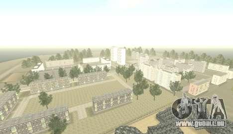 Russian Map 0.5 pour GTA San Andreas deuxième écran