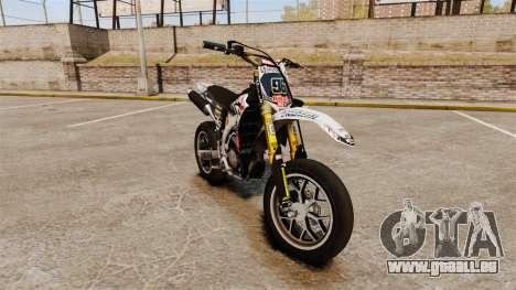 Yamaha YZF-450 v1.10 pour GTA 4