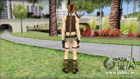 Best Lara Croft pour GTA San Andreas deuxième écran