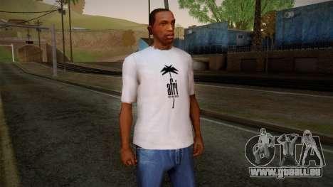 Afri Cola White Shirt pour GTA San Andreas