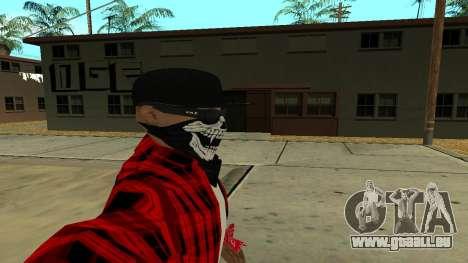 Selfie Mod für GTA San Andreas dritten Screenshot