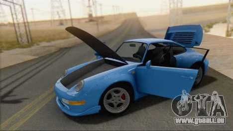 Porsche 911 GT2 (993) 1995 V1.0 SA Plate pour GTA San Andreas vue de droite