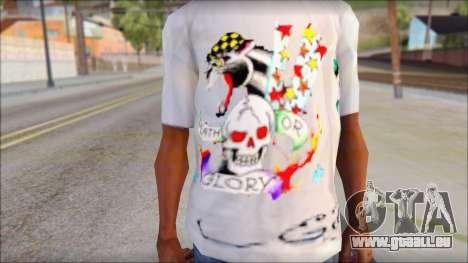 Ed Hardy T-Shirt pour GTA San Andreas troisième écran