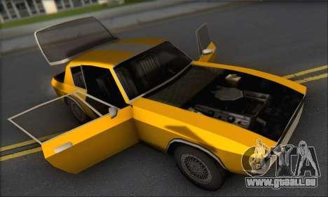 Jensen Intercepter 1971 Fast And Furious 6 pour GTA San Andreas vue arrière