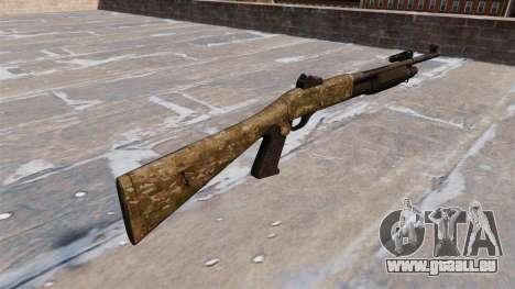 Ружье Benelli M3 Super 90 devgru pour GTA 4 secondes d'écran