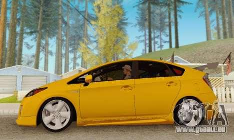 Toyota Prius Tunable für GTA San Andreas Innenansicht