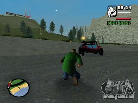 Der Putsch für GTA San Andreas zweiten Screenshot